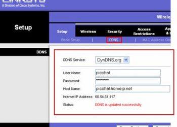 Hướng dẫn cấu hình DDNS (DynDNS)