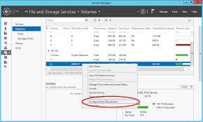 Data Deduplication – Windows Server 2012 R2