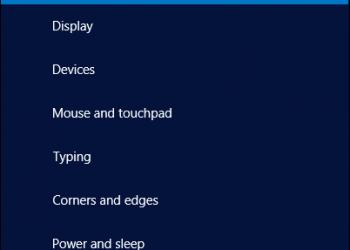 Tìm hiểu về PC & Devices trong Windows 8.1