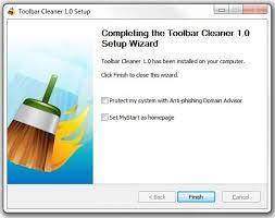 Xóa Toolbar trên trình duyệt web với Toolbar Cleaner