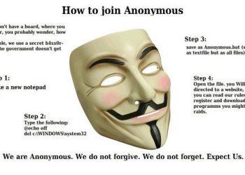 Bạn muốn gia nhập nhóm Hacker Anonymous ?