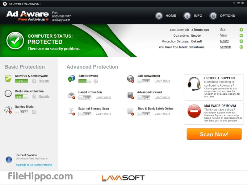 AdAware Free Antivirus