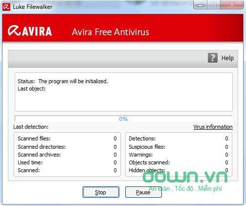 Avira Free Antivirus Edition