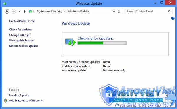 Luôn luôn cập nhật phần mềm từ Website chính thức