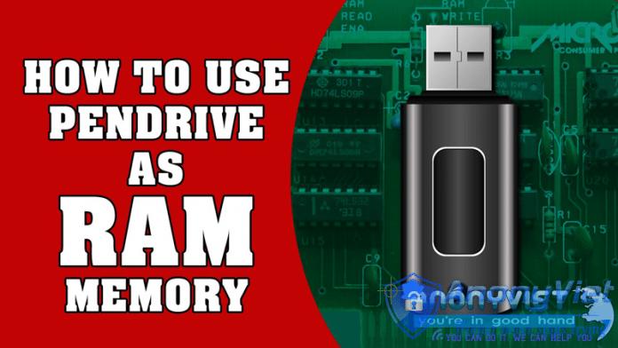 Tăng RAM qua pendrive