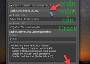 Hướng dẫn crack toàn bộ phần mềm của Adobe 2017