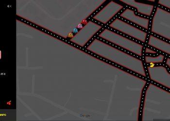 Chơi Pac-Man ngay trên bản đồ Google Map 1