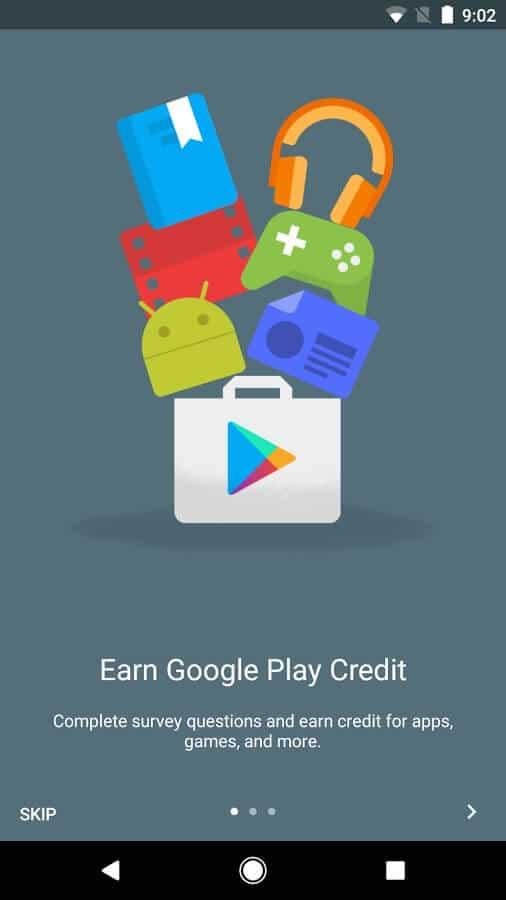 Ứng dụng phần thưởng Google Opinion