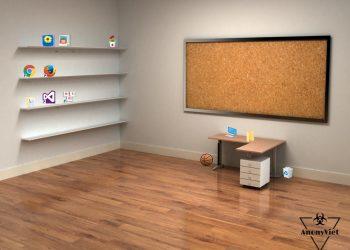 Hướng dẫn trang trí Desktop 3D cực đẹp 1