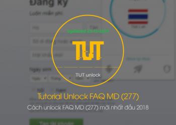 Cách unlock FAQ MD (277) mới nhất đầu 2018