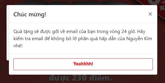 Cách nhận cực nhiều quà tặng từ game BigbigBangbang