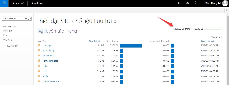 Cách tạo tài khoản OneDrive 5TB miễn phí dùng vĩnh viễn