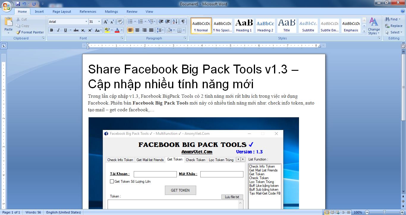 Download Office 2007 Portable cực nhẹ không cần cài đặt