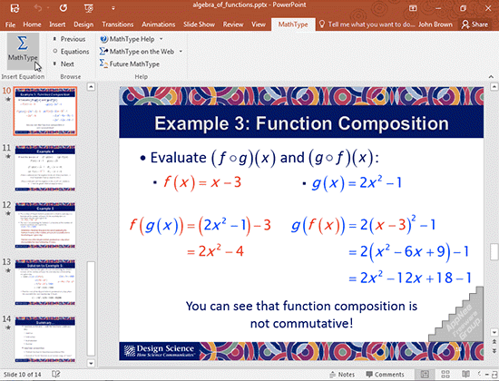 MathType 7.3 Full Phần mềm hổ trợ gõ ký tự Toán học