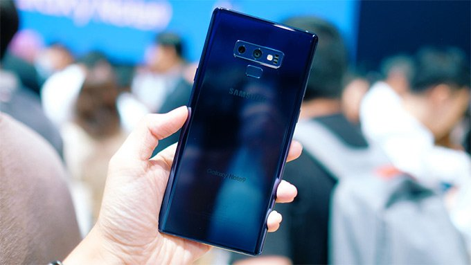 Camera sau Samsung Galaxy Note 9