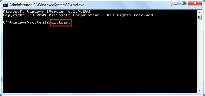 Run DiskPart cmd command to remove write protection.