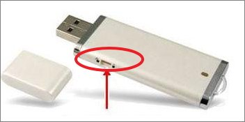 write protected usb