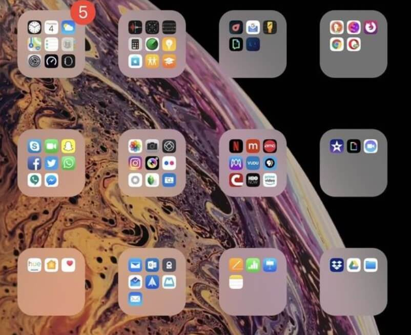 Tạo Folder không tên trên Iphone không cần Jaibreak