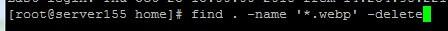 tìm và xóa file trên linux