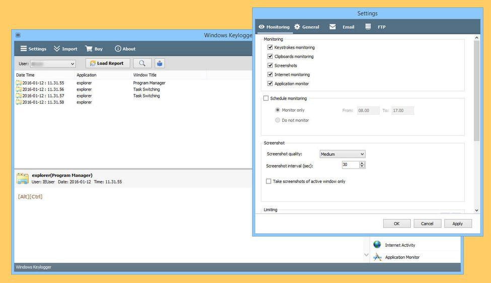 Windows Keylogger