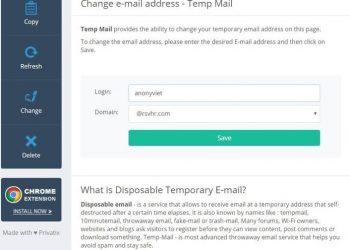 tạo mail ảo temp-mail.org tạo mail ảo