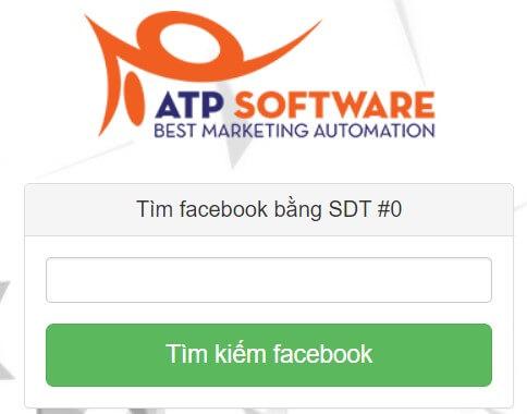 tìm tài khoản Facebook bằng số điện thoại