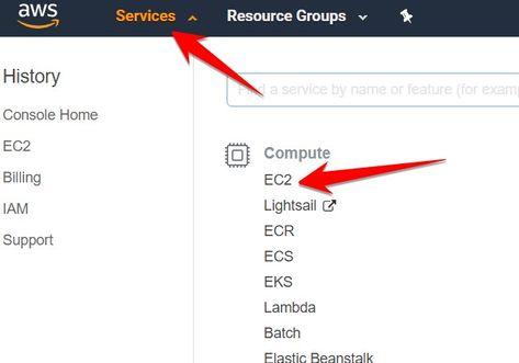 Services ec2