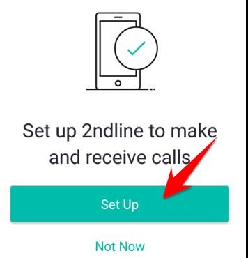 quyền ứng dụng 2ndLine