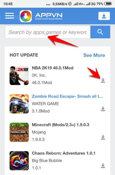 Cách tải App bản quyền từ Google Play không tốn tiền bằng Appvn