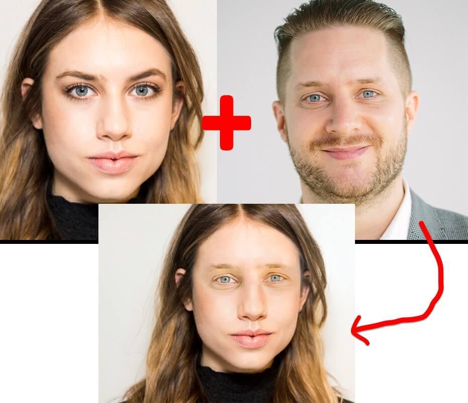 Ghép mặt người trong photoshop
