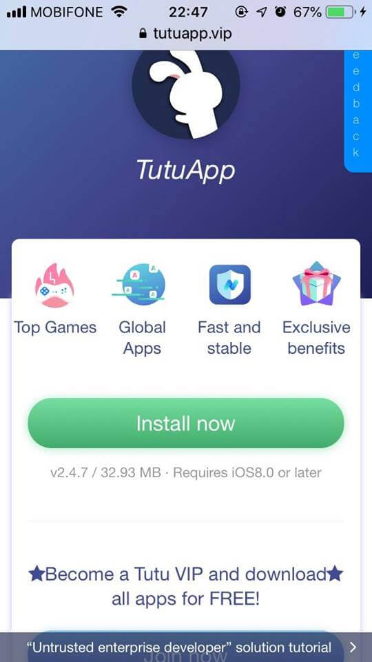 install now tutuapp