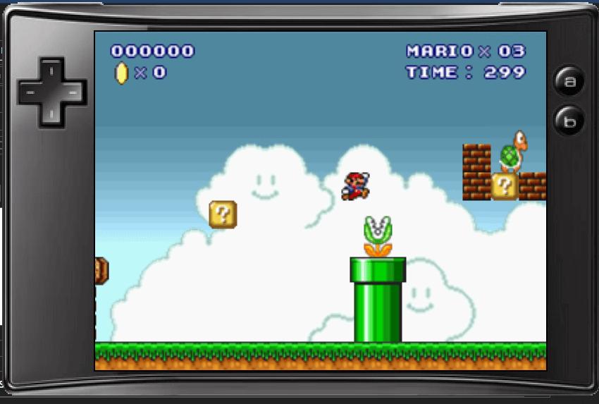 Game Mario được viết bằng AutoIT