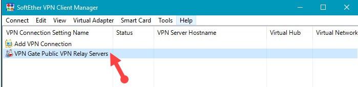 VPN Gate Public VPN Relay Servers.
