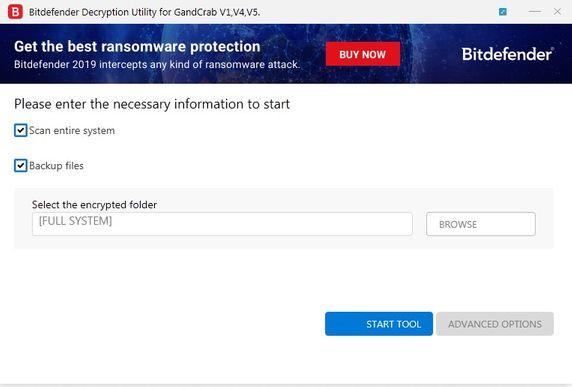 Cách giải mã Virus tống tiền Ransomware GandCrab
