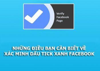 cách làm tick xanh facebook