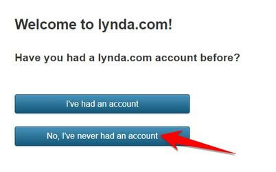 No, i've never had an account
