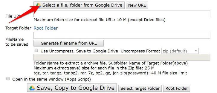 Cách Upload File từ URL lên Google Drive không cần tải về máy tính