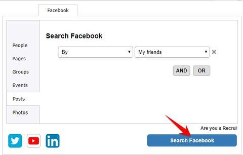 Cách tìm kiếm tất cả thông tin người nào đó trên Facebook