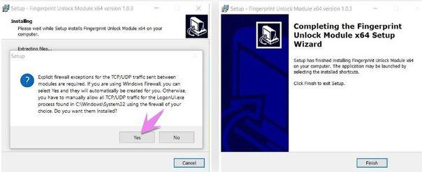 Cấu hình trên Windows