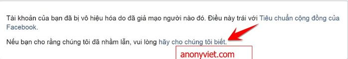 Tut Unlock Mạo danh Facebook khi bị Report