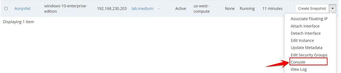 vào giao diện VPS Windows RAM 2Gb