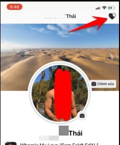 chức năng hẹn hò facebook trên iphone