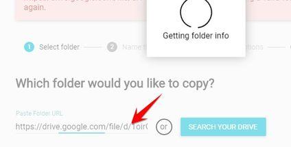 Copy link của Folder/File