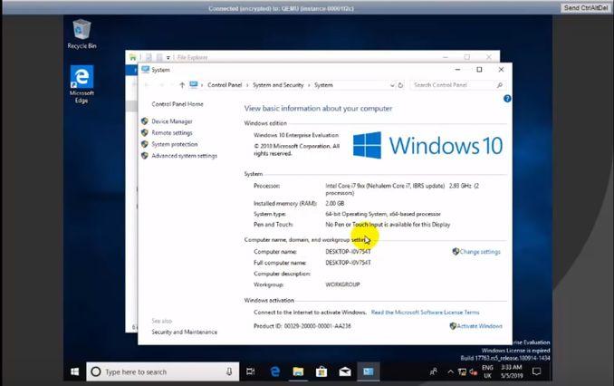 VPS Windows RAM 2Gb