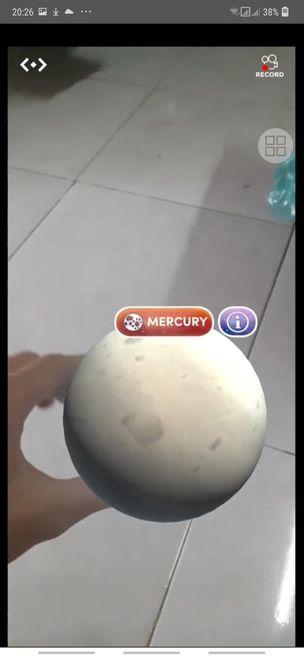 Thực tế AR các merge cube mô phỏng hành tinh