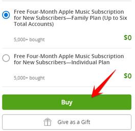 Cách nhận Code Apple Music 4 tháng