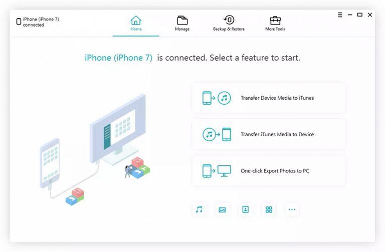 Download iCareFone Full Key - Phần mềm tối ưu IPhone