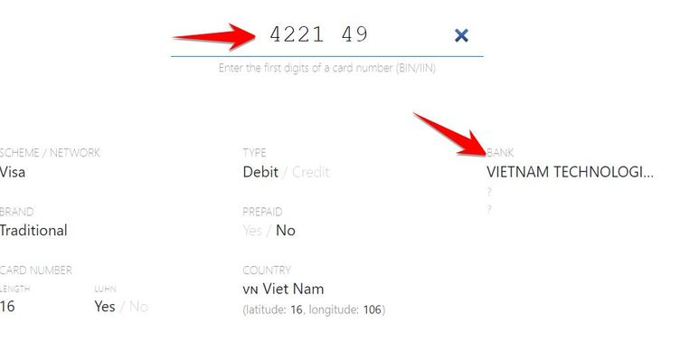 Cách xác định BIN thuộc ngân hàng nào? Bin là gì