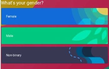 What's your gender