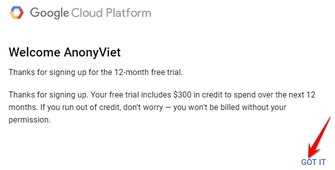 300$ tạo vps 12 tháng google